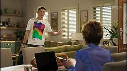 Hendrix Greyson, Susan Kennedy in Neighbours Episode 8570