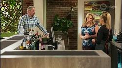 Karl Kennedy, Sheila Canning, Roxy Willis in Neighbours Episode 8570