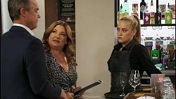 Paul Robinson, Terese Willis, Roxy Willis in Neighbours Episode 8570
