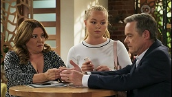 Terese Willis, Harlow Robinson, Paul Robinson in Neighbours Episode 8570