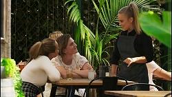 Harlow Robinson, Brent Colefax, Roxy Willis in Neighbours Episode 8570