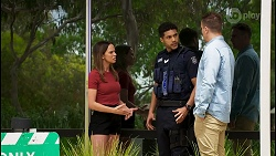 Bea Nilsson, Levi Canning, Kyle Canning in Neighbours Episode 8571
