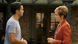 David Tanaka, Susan Kennedy in Neighbours Episode 8572
