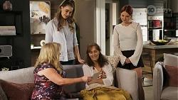 Sheila Canning, Chloe Brennan, Fay Brennan, Nicolette Stone in Neighbours Episode 8572