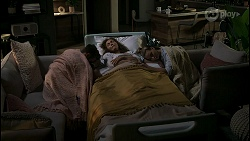 Aaron Brennan, Fay Brennan, Chloe Brennan in Neighbours Episode 8573