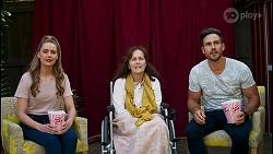 Chloe Brennan, Fay Brennan, Aaron Brennan in Neighbours Episode 8573