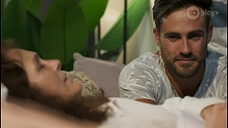 Fay Brennan, Aaron Brennan in Neighbours Episode 8573