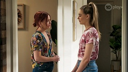 Nicolette Stone, Chloe Brennan in Neighbours Episode 8574