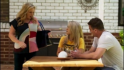 Sheila Canning, Roxy Willis, Kyle Canning in Neighbours Episode 8575