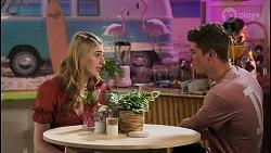 Mackenzie Hargreaves, Hendrix Greyson in Neighbours Episode 8575