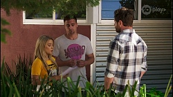 Roxy Willis, Kyle Canning, Shane Rebecchi in Neighbours Episode 8575