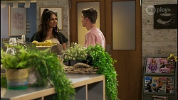 Dipi Rebecchi, Hendrix Greyson in Neighbours Episode 8575