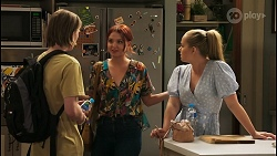 Brent Colefax, Nicolette Stone, Harlow Robinson in Neighbours Episode 8575