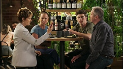 Susan Kennedy, Bea Nilsson, Hendrix Greyson, Karl Kennedy in Neighbours Episode 8576