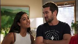 Yashvi Rebecchi, Ned Willis in Neighbours Episode 8576