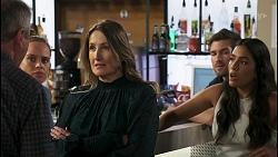 Karl Kennedy, Bea Nilsson, Olivia Bell, Ned Willis, Yashvi Rebecchi in Neighbours Episode 8576