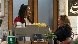 Dipi Rebecchi, Terese Willis in Neighbours Episode 8576