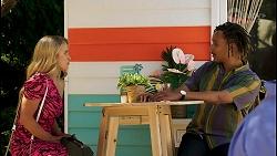 Roxy Willis, Khari Breen in Neighbours Episode 8576