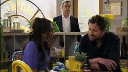 Dipi Rebecchi, Paul Robinson, Shane Rebecchi in Neighbours Episode 8577