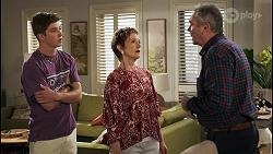 Hendrix Greyson, Susan Kennedy, Karl Kennedy in Neighbours Episode 8577