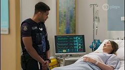 Levi Canning, Olivia Bell in Neighbours Episode 8577
