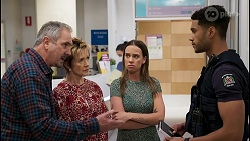 Karl Kennedy, Susan Kennedy, Bea Nilsson, Levi Canning in Neighbours Episode 8578