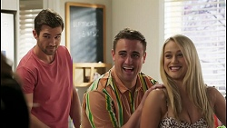 Ned Willis, Kyle Canning, Roxy Willis in Neighbours Episode 8579