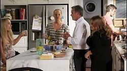 Roxy Willis, Harlow Robinson, Paul Robinson, Terese Willis, Ned Willis in Neighbours Episode 8579