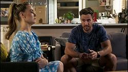Chloe Brennan, Aaron Brennan in Neighbours Episode 8580