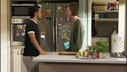 David Tanaka, Brent Colefax in Neighbours Episode 8580