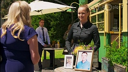 Sheila Canning, Kyle Canning, Harlow Robinson in Neighbours Episode 8580