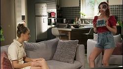 Chloe Brennan, Nicolette Stone in Neighbours Episode 8580