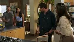Toadie Rebecchi, Yashvi Rebecchi, Shane Rebecchi, Dipi Rebecchi in Neighbours Episode 8582