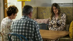 Susan Kennedy, Karl Kennedy, Olivia Bell in Neighbours Episode 8582