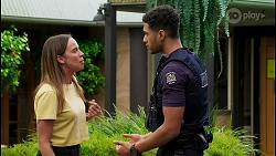 Bea Nilsson, Levi Canning in Neighbours Episode 8583