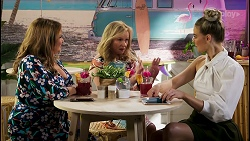 Terese Willis, Sheila Canning, Chloe Brennan in Neighbours Episode 8583