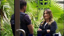 Levi Canning, Olivia Bell in Neighbours Episode 8584