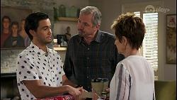 David Tanaka, Karl Kennedy, Susan Kennedy in Neighbours Episode 8584