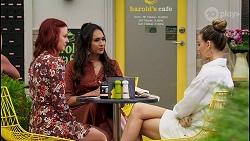 Nicolette Stone, Dipi Rebecchi, Chloe Brennan in Neighbours Episode 8584