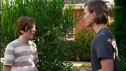 Emmett Donaldson, Brent Colefax in Neighbours Episode 8585