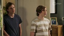Brent Colefax, Emmett Donaldson in Neighbours Episode 8586
