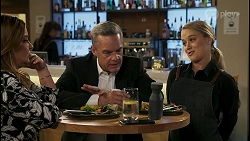 Terese Willis, Paul Robinson, Roxy Willis in Neighbours Episode 8586
