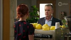 Nicolette Stone, Paul Robinson in Neighbours Episode 8586