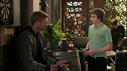 Holden Brice, Emmett Donaldson in Neighbours Episode 8586