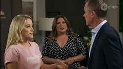 Roxy Willis, Terese Willis, Paul Robinson in Neighbours Episode 8586