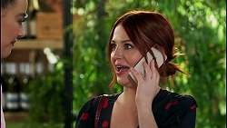 Chloe Brennan, Nicolette Stone in Neighbours Episode 8587