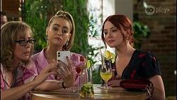 Jane Harris, Chloe Brennan, Nicolette Stone in Neighbours Episode 8587