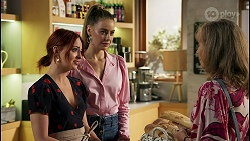 Nicolette Stone, Chloe Brennan, Jane Harris in Neighbours Episode 8587