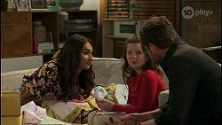 Dipi Rebecchi, Nell Rebecchi, Shane Rebecchi in Neighbours Episode 8587