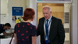 Nicolette Stone, Clive Gibbons in Neighbours Episode 8588